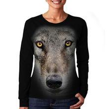 Wellcoda   Golden Legend Dragon Symbol Sword Fire Ladies Women Long Sleeve T-Shirt NEW Tee 100% Cotton Top S-XL Size