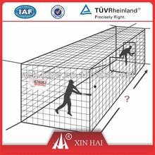 HDPE/PE baseball pitching screen batting cage net,Baseball batting cage,baseball practice cage