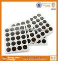 Muebles de plástico decoración de tornillo de la tapa/comprar etiqueta de tornillo cubre