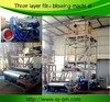 SJ-3LF45 3 layer co-extrusion blown film machine