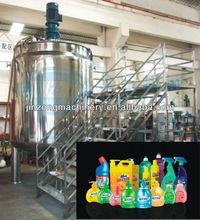 5T shampoo making production line,liquid detergent production plant