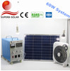 cheap 5w,10w,20w,30w,40w,60w portable solar home system with LED bulb and mobile phone charger(OEM & ODM)