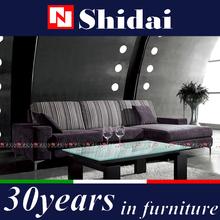Sofá em forma de l, Modern lobby sofá projeto, Sala de estar mobiliário l forma sofá G115-RE