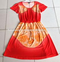 Vietnam high fashion clothing factory direct woman dress manufacturer