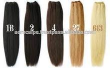 color variety virgin brazilian straight hair extensions
