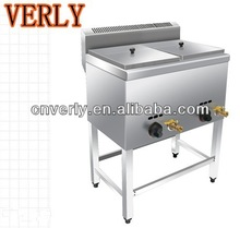 HOT SALE ! Stainless Steel 2 Tanks Commercial Gas Deep Fryer/Double Basket Deep Fryer/2 Tank 4 Basket Deep Fryer
