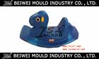 OEM custom plastic rocking horse mold for children