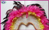 2014 Now design Adult Size Sequin Fashion Carnival Feather Headdress Indian Headdress 200g for sale