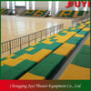 JY-750 Motor Movable Telescopic Bleachers athletic facility design