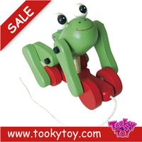 children kid wooden pull along toys
