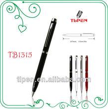 Shiny black metal gift pen TB1315