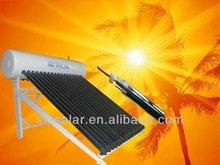White Integrated & Pressurized solar water heater SKI-PP from SKI Solar