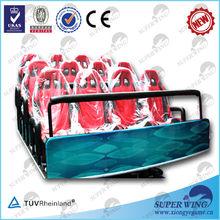 6 dof electric/hydraulic amusement arcade 5d mobile theater