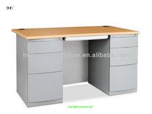 Modern KD Metal Computer Desk Workstation