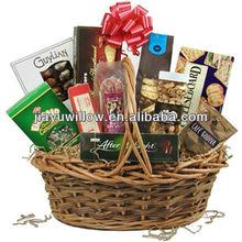 Unique eco-friendly gift basket wicker