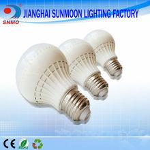Plastic bulb european standard energy saving bulbs b22