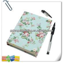Custom Design Printed Notebook with Pen Inside