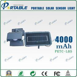 mini solar powered led light hot selling solar infrared motion sensor light