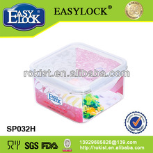 Square eco friendly shipping box silicone container