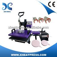 38*38cm low price 8 in 1 multifunctional heat press machine