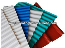 pvc corrugated plastic roof sheet