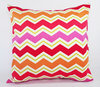 stripe design cotton/polyester pillow case washable fireproof cushion cover indoor/outdoor chevron couch pillow