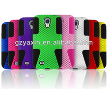 New custom silicone case for samsung galaxy s4 i9500,rock hard case for samsung galaxy s4 i9500