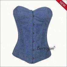 Plus size fashion western style corset bustier sexy corset bodysuit garter