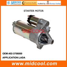 HIGH QUALITY CAR STARTER MOTOR FOR LADA 402-3708000