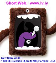ilovehandles original cyclops - stuffed animal with microfiber hands for ipad 4 case