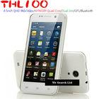 Latest THL W100 3G cell phone 4.5inch Quad Core MTK6589 Dual Camera Bluetotoh GPS WIFI 1GB Ram 4GB Rom