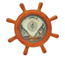decorative wooden Ship Wheel ,Craft ship wheel for decoration