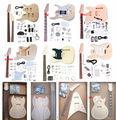 china aiersi precio barato sin terminar de bricolaje de madera eléctrica kits de guitarra