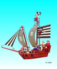 Bộ sail Mediterranean đồ chơi bằng gỗ