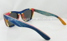 Top quality most popular wooden legs sunglasses