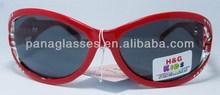 Popular professional sport kids sunglasses dual pearl color