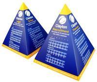 2015 Promotional Pyramid Desk Calendar , 2015 Advertising Calendar, 2015 Fancy and Novelty Calendar
