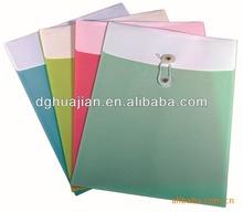 Innovative office stationery file folder pocket