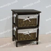 small living room furniture paulownia wood tea trolley