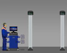 Techno Vector 7 3D WideScope 4-camera wheel aligners