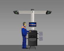 Techno Vector 7 3D WideScope 2-camera wheel aligners