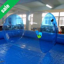 0.8PVC bubble ball walk water