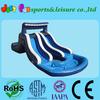 new design water slip and slide, inflatable double lane slip slide
