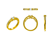 jewelry ring CAD model wholesale