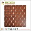 SY24 Oak Walnut Sapele Wooden Parquet Laminated Flooring