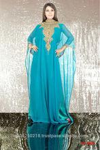 moroccan wedding kaftans / DUBAI VERY FANCY KAFTANS abaya jalabiya Ladies Maxi Dress Wedding gown earring