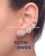Diamond Style Ear Cuff