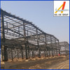 sandwich type steel structure factory workshop