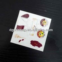 flying bird body tattoo and temporary tattoo sticker for kids