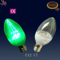 ce&rohs 110/240v 50/60hz e12/e14 0.5w small led light bulb